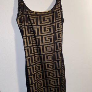fashion nova black bodycon spaghetti strap dress
